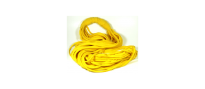 Yellow Stringy Scarf